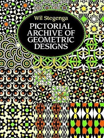 Pictorial Archive of Geometric Designs (Dover Pictorial Archive Series)
