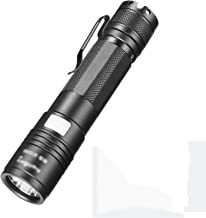 LED Tactical Flashlight, 5 Modes, High Lumen, Water Resistant, Handheld Light for Camping, Hiking, Outdoor, Emergency,1700mAh