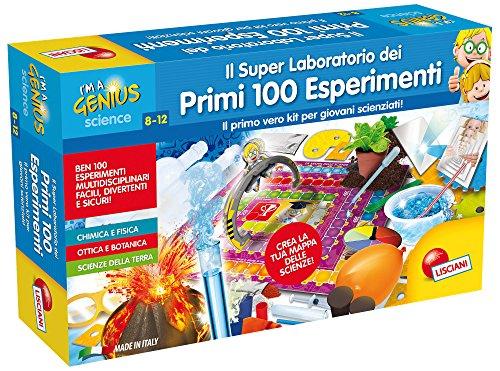 Lisciani Giochi I'm a Genius Science Il Super Laboratorio dei Primi 100 Esperimenti, 56293