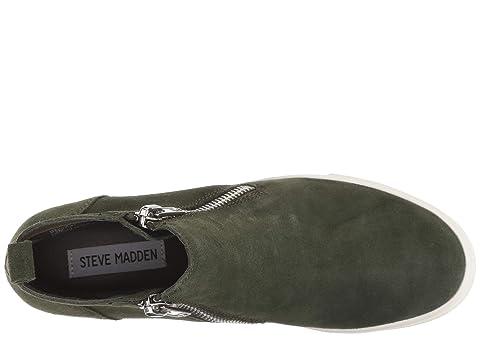 SuedeOlive Madden Black Wedgie Steve Suede Sneaker SuedeGrey qTB4nT6Pw