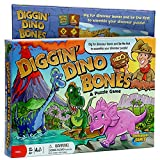 Continuum Games - Digging Dino Bones Board Game, Kids Aged 4 & Up