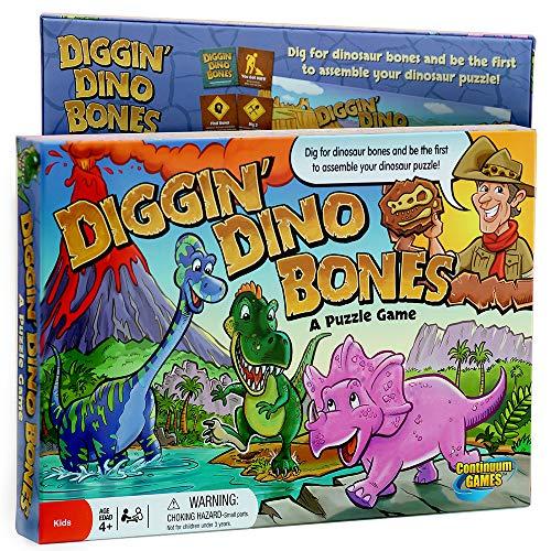 Digging Dino Bones Board Game, Kids Aged 4 & Up