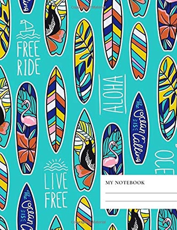 吸収する宇宙のセーブMy Notebook: College ruled   100 Pages    8.5 x 11 - A4 size   Writing Journal & Composition Book