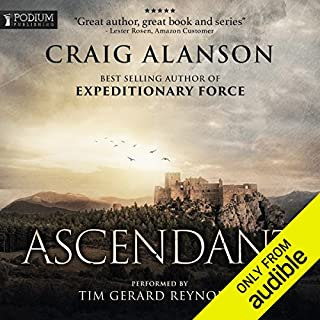 Ascendant: Book 1                   Written by:                                                                                                                                 Craig Alanson                               Narrated by:                                                                                                                                 Tim Gerard Reynolds                      Length: 17 hrs and 23 mins     79 ratings     Overall 4.6