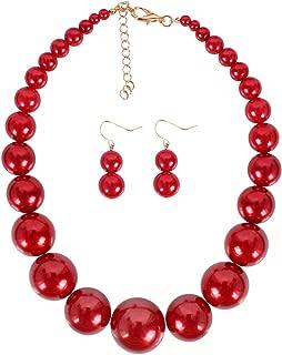 Best big bead necklace Reviews