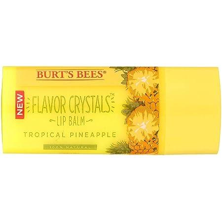 Burt's Bees, Lip Balm Flavor Crystals Tropical Pineapple, 0.16 Ounce