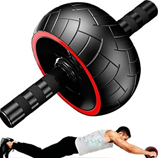Roda Larga para Exercícios Abdominal com Tapete de Apoio