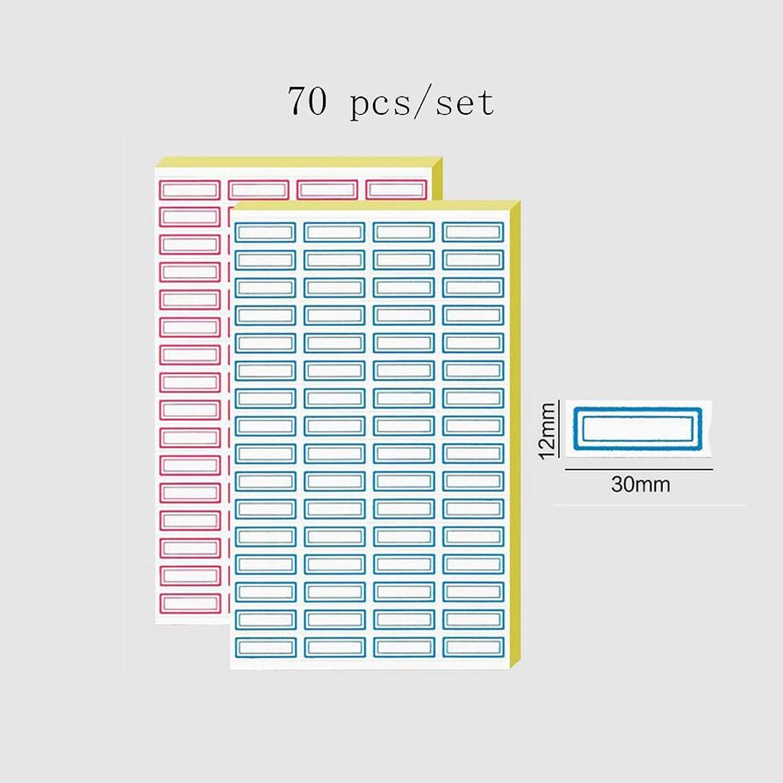 Liu Yu·Büroflächen, Yu·Büroflächen, Yu·Büroflächen, Bürobedarf rot und blau selbstklebende Aufkleber Etikettenpapier Etikettenaufkleber 2 Set B06XR75KDK | Zuverlässiger Ruf  2d3389