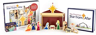 Star From Afar Soft Cover - Christmas Tradition– Interactive Wooden Nativity - Christian or Catholic Gift for Children
