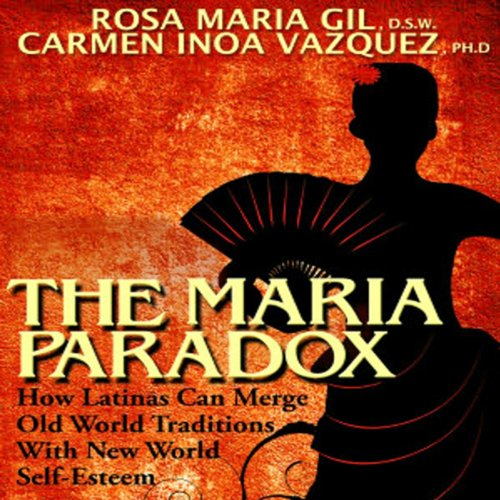 The Maria Paradox audiobook cover art