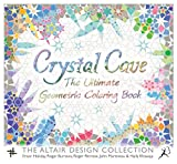 Crystal Cave Adult Coloring Book: The Ultimate Geometric Coloring Book (Wooden Books)