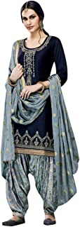 INFOTECH Women's Cotton Semi-stitched Salwar Suit