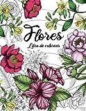 Flores - Libro de colorear para adultos: Libros para colorear antiestrés con hermosas flores (idea de regalo)