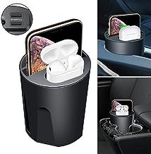 X9A 5/7 / 10W Cuatro-en-uno Cargador Inalámbrico Para Coche Taza De Agua Carga QI Dual USB Compatible Para Apple Samsung Airpods XS MAX/XR/X / 8 PLUS Para Airpods 2 Galaxy