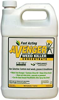 128 oz Organic Weed Killer Herbicide Concentrated