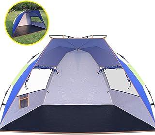 ワンタッチ テント Volador サンシェード テント アウトドア 2人用 3人用 フルクローズ UV95% カット ポップアップテント 防災用 海 キャンプ 登山 運動会 専用収納バッグ付