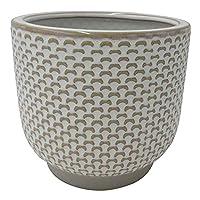 Amazon Brand Stone & Beam Textured Stoneware Planter 6.25-in Deals