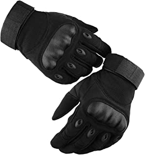 LALATECH Motorbike Gloves, Motorcycle Riding Gloves Full Finger Motorcycle Gloves Men, Touch Screen ATV Riding Gloves Motorcycle Mens