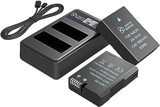 PHOTO MASTER EN-EL14 EN-EL14a Batería Reemplazo (2 Pack 1200mAh) y LCD Doble Cargador para Nikon D5500 D5300 D5200 D5100 D3500 D3300 D3200 D3100 DF COOLPIX P7800 P7700 P7100 P7000