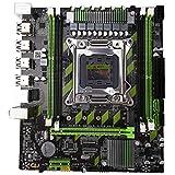 Tamkyo X79 Placa Base LGA 2011 4 X DDR3 Doble Canal 64Gb Memoria SATA 3.0 PCI-E 8 X USB para Escritorio Core I7 Xeon E5