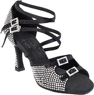 Women's Ballroom Dance Shoes Tango Wedding Salsa Shoes S1004CCEB Comfortable Very Fine 3