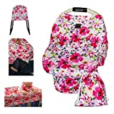 Product Image of the Nursing Breastfeeding Cover Scarf - Baby Car Seat Canopy - Shopping Cart,...