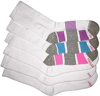 Hanes Women's 404 Pack of 6 Socks, Multicolored, 8-12