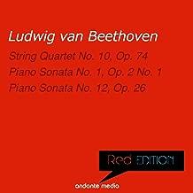 Red Edition - Beethoven: String Quartet No. 10, Op. 74 & Piano Sonatas Nos. 1, 12