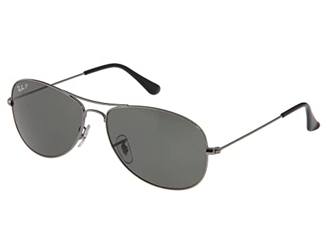 b07aee6b5c Ray-Ban 3362 Cockpit-Polarized Medium at Zappos.com