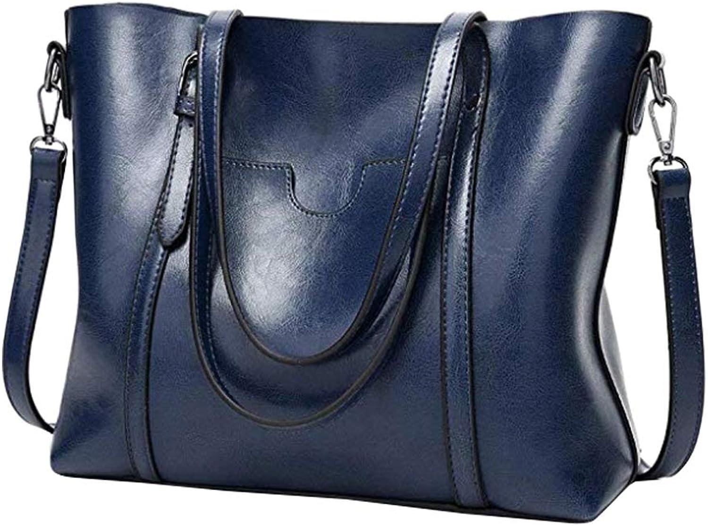 Uirend Shoulder Bags Totes Women - Ladies PU Leather Satchel Handbags Work Casual Large Capacity Top Handle Bags