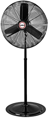 "Lasko 30"" Oscillating Industrial Fan, 30 Inch, Black 3135"
