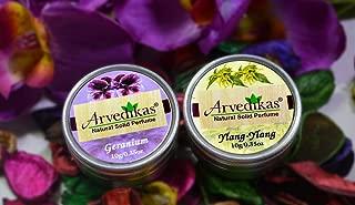 ylang ylang and grapefruit solid perfume