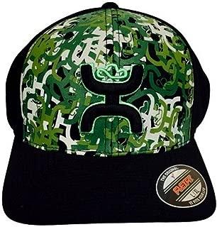 Hat - 'Hamo' Flexfit Baseball Cap - Hooey Camo/Black