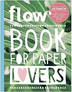 FLOW BOOK FOR PAPER LOVERS 6 (2018-19) - new copies Exclusively from Magazines and more