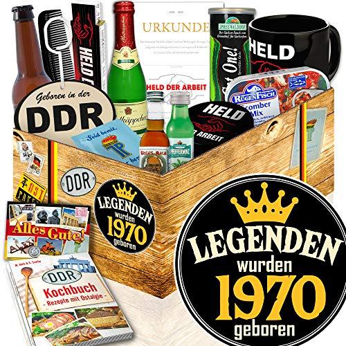 Legenden 1970 | Zum Geburtstag | DDR Geschenkset Mann