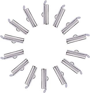 NBEADS 5000PCS estremit/à del Cavo in Ferro per Creare Gioielli Cavo terminali connettori,6/x 3/mm 1/mm Golden Foro