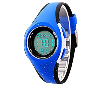 Kids Boys Girls Digital Watches,Outdoor Waterproof Watch with Alarm Age 11-15 7-10 LED Wrist Watches Gift for Teenagers Girls Boys