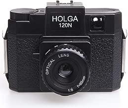 Holga 120N Medium Format Film Lomo Camera Toy Mini Instant Camera with Lens (Black)