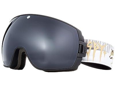 Spy Optic Legacy (Damasso Sanchez/Gray Green/Black/Persimmon/Silver Spectra Mirror) Snow Goggles