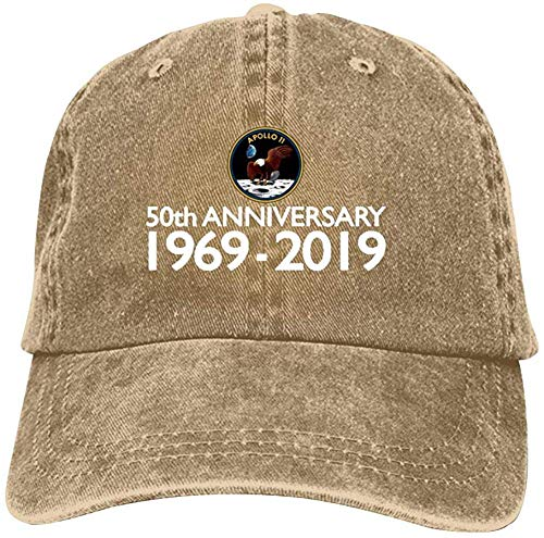 Gorra Sombrero Ap-ollo 11 Moon Landing 50th Anniversary Baseball Caps Unisex Vintage Jeans Denim Cotton Adjustable Hat