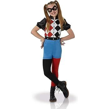 Warner – i-630025s – Disfraz clásico Harley Quinn Superhero Girls ...