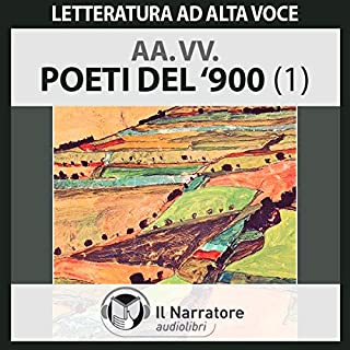 Poeti del '900 copertina