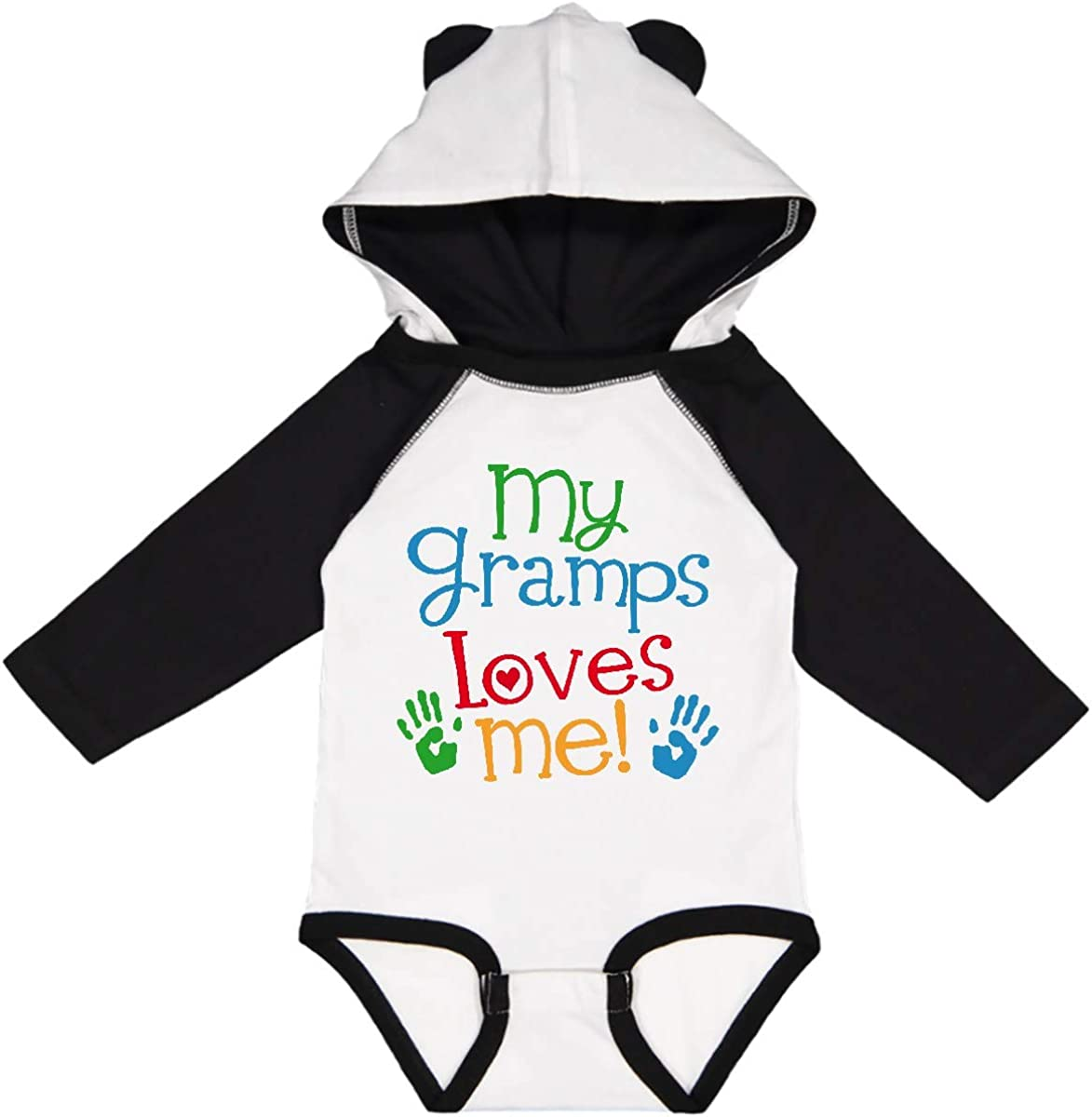 inktastic My Gramps Loves Me Louisville-Jefferson County Free Shipping New Mall Long Sleeve Outfit Creeper
