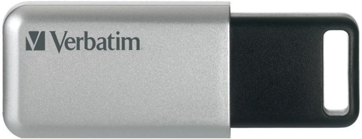 Verbatim 64GB Store'n' Go High material Secure Pro Long Beach Mall USB AE 3.0 Flash with Drive