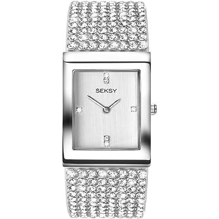 SEKONDA Womens Analogue Classic Quartz Watch with Brass Strap 2375.37
