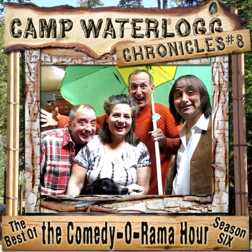 The Camp Waterlogg Chronicles 8 audiobook cover art