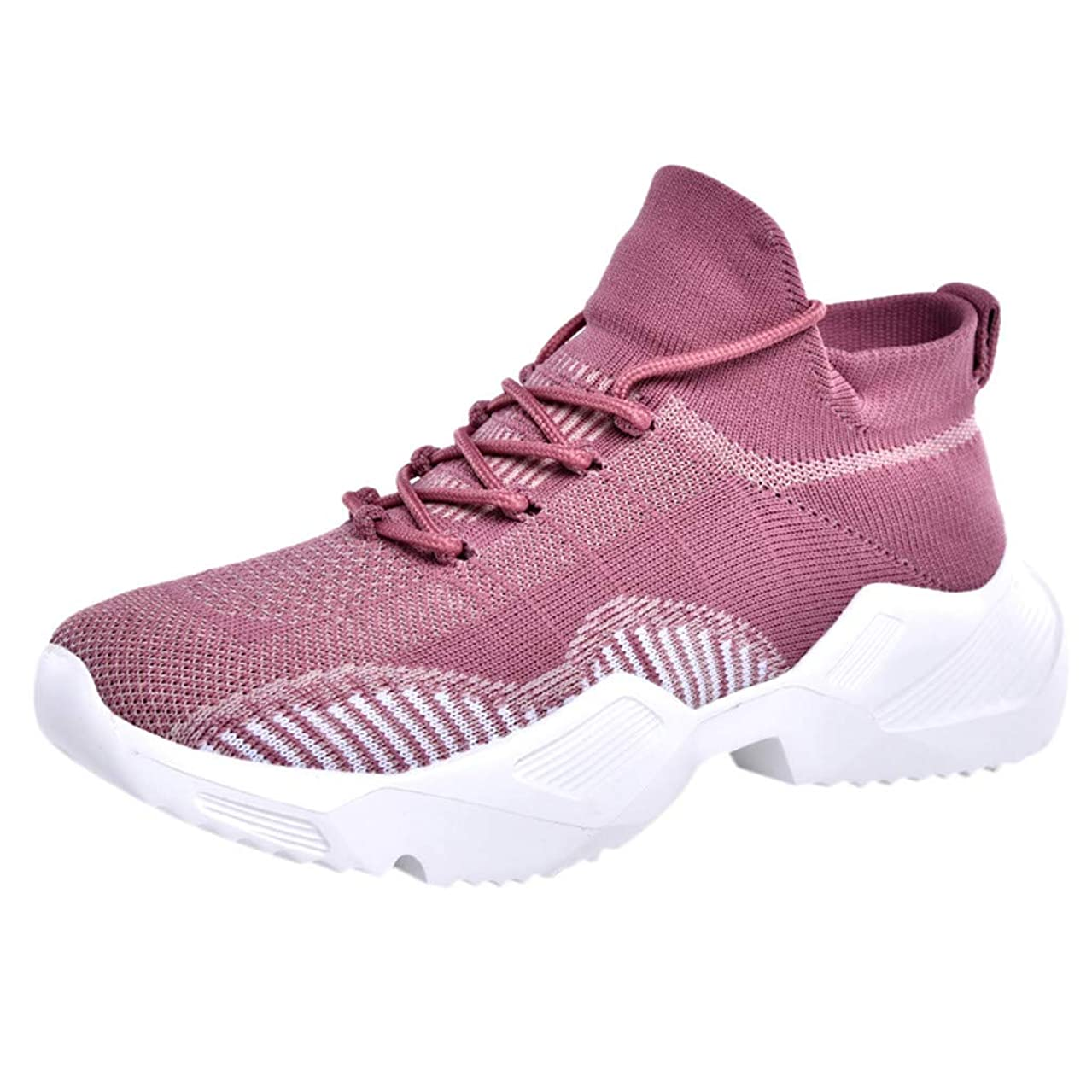 Hurrybuy Walking Shoes Women Fashion Breathable Sneakers Casual Athletic Lightweight Outdoor Sports Shoes