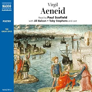 Aeneid audiobook cover art