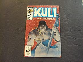 Kull The Conqueror #4 Feb 1984 Marvel Comics Bronze Age