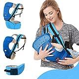 kuuboo carrito de bebé cinturón de cintura taburete delantera y trasera...